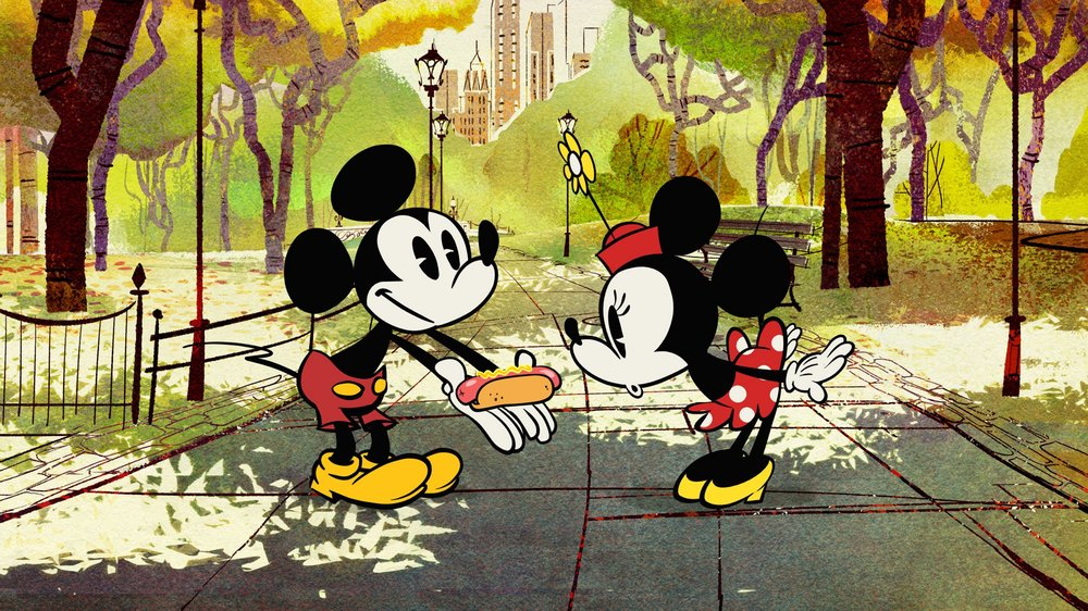 Mickey and Minnie Mouse's makeover