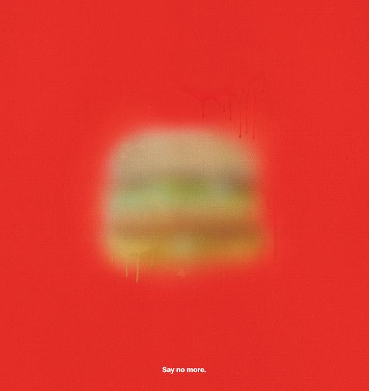 Big Mac interpretation by McDonald's