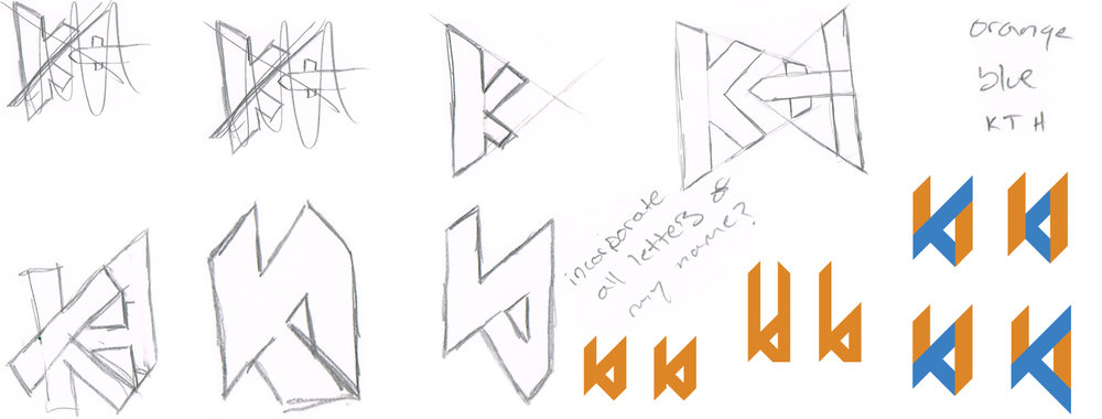 kylethale logo sketches