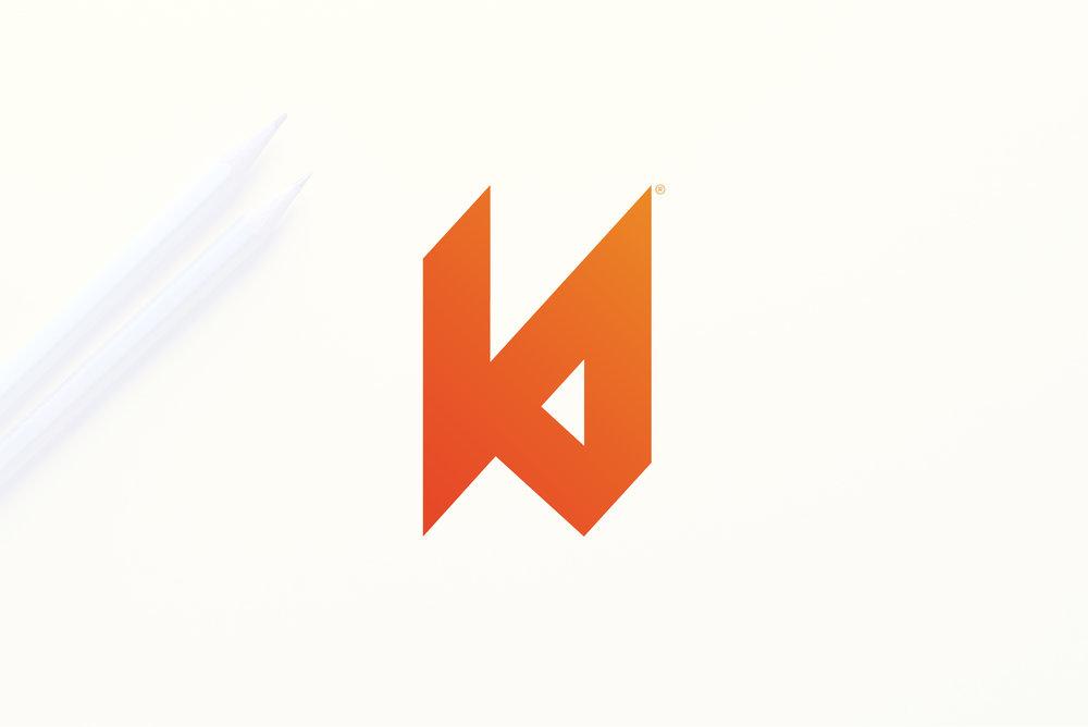 kylethale logo on pencils