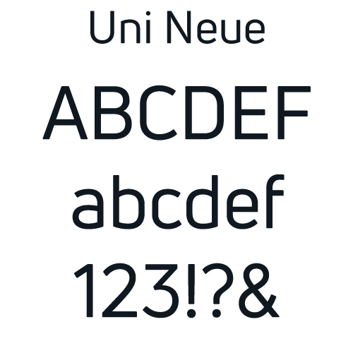 kylethale Uni Neue Font