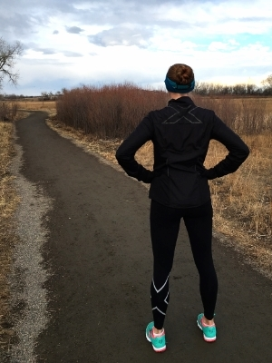 Time to tackle some goals - good thing I've got my 2XU HYOPTIK Jacket and Thermal Tights!
