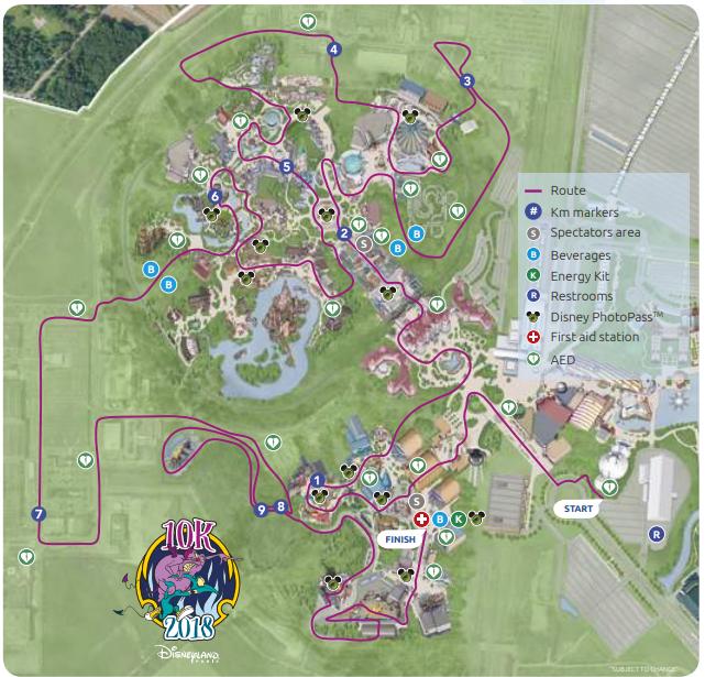 Disneyland Paris Map 2016 Pdf.Rundisney Maps Magic Of Running
