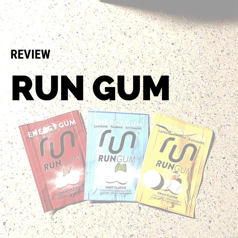 Product Review - Run Gum — Magic of Running
