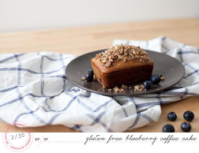 Gluten Free Blueberry Coffee Cake (gluten Free, Sugar Free)