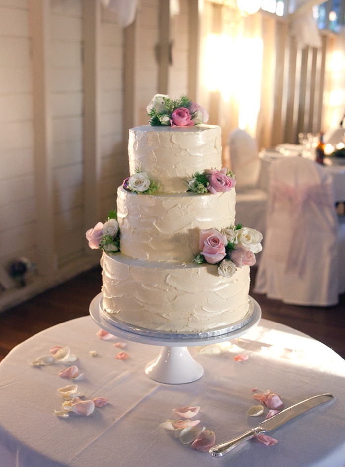 Wedding Cakes Simple But Elegant Cake Lilac Orchids Classic