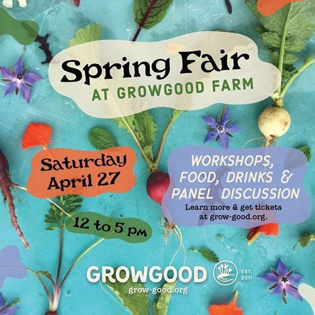 This Saturday I'll be teaching a zero waste workshop at this really cool non-profit urban farm @grow_good! It is their Spring fundraising event so all proceeds will be to help them continue their work. There are other really cool workshops including home composting and a self reliance discussion panel. I've visited once and it was such an awesome place, I can't wait to go back again this weekend! Tickets available through @grow_good profile. #zerowaste