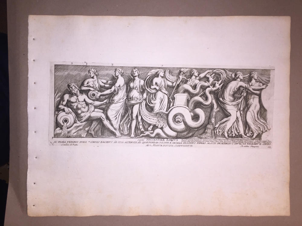 Pietro Santi Bartoli (Italian Painter/Engraver, 1635-1700)