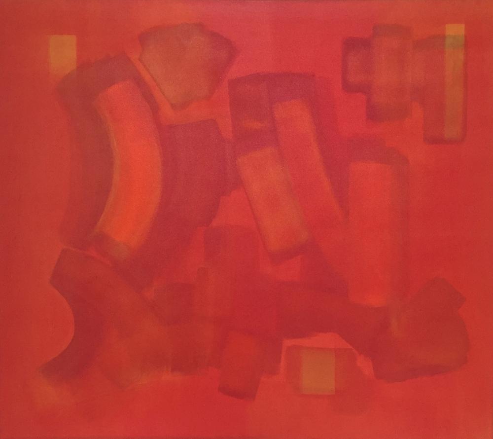 """""""The Sugar Maple"""" (2011), acrylic on canvas, 54"""" x 48"""""""