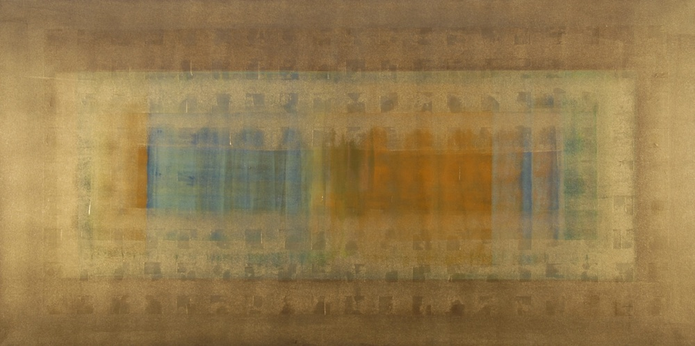"""Al Umbra"" (2010), acrylic on canvas, 60"" x 30"""