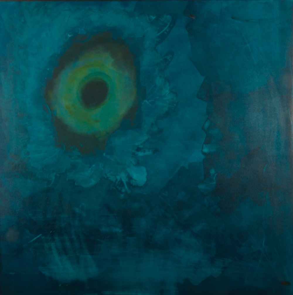 """Daedelus"" (2014), acrylic on canvas, 48"" x 48"""