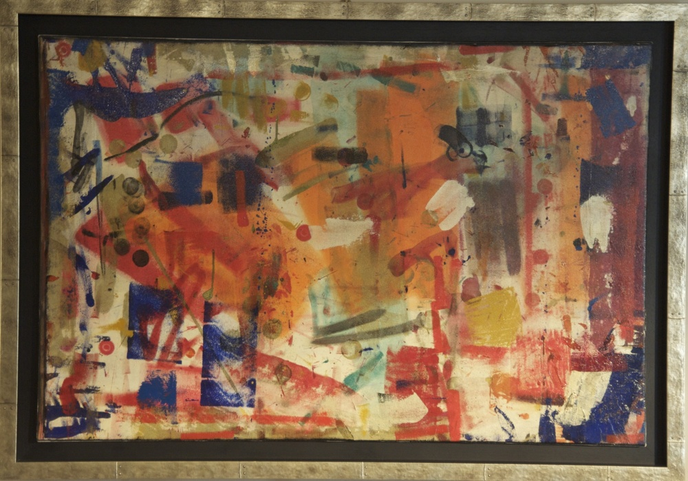 """""""The Combination of Them All"""" (2010), acrylic on canvas, 72"""" x 48"""""""