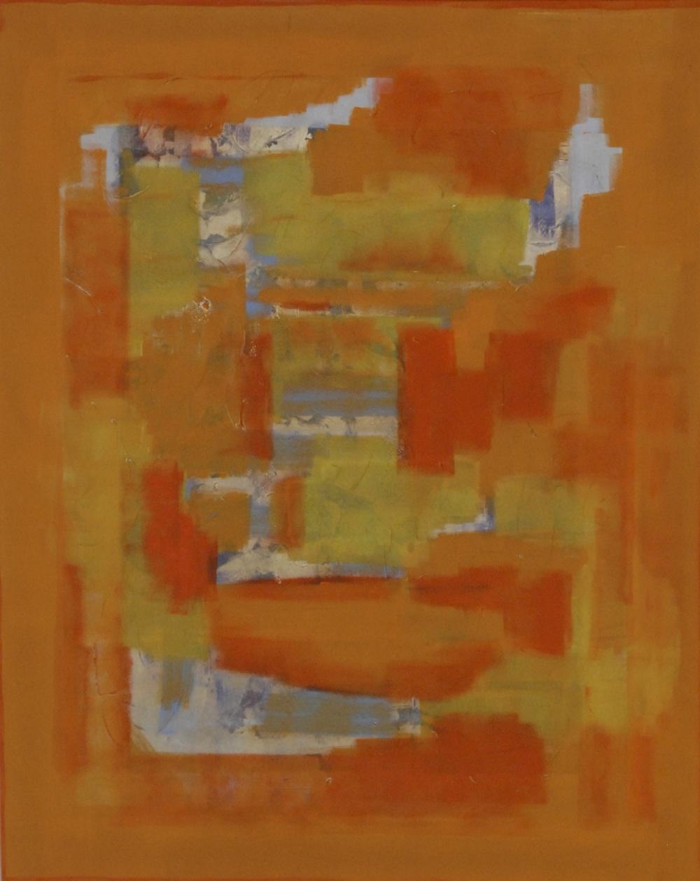 "Untitled (2014), acrylic on canvas, 60"" x 48"""