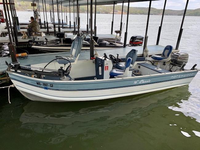 New 16 ft rental boat.  40hp motor, trolling motor and sonar
