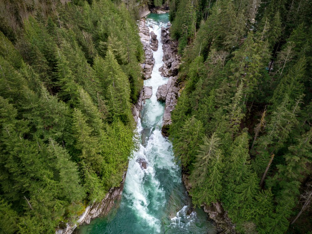 Canyon Falls, Washington