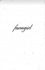 Megan Gnanasihamany  ,  Farmgirl   (Page 1), Zine, 2016.