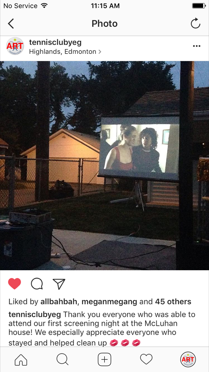 Movie Night, 2016
