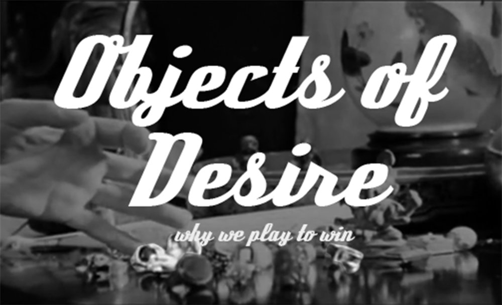 Objects of Desire (Page One), Morgan Melenka, Zine.