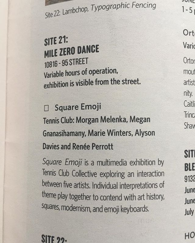 Look at our show. @milezerodance ⏹⬜️◻️▫️◽️🔲 #artexhibition #artistcollective