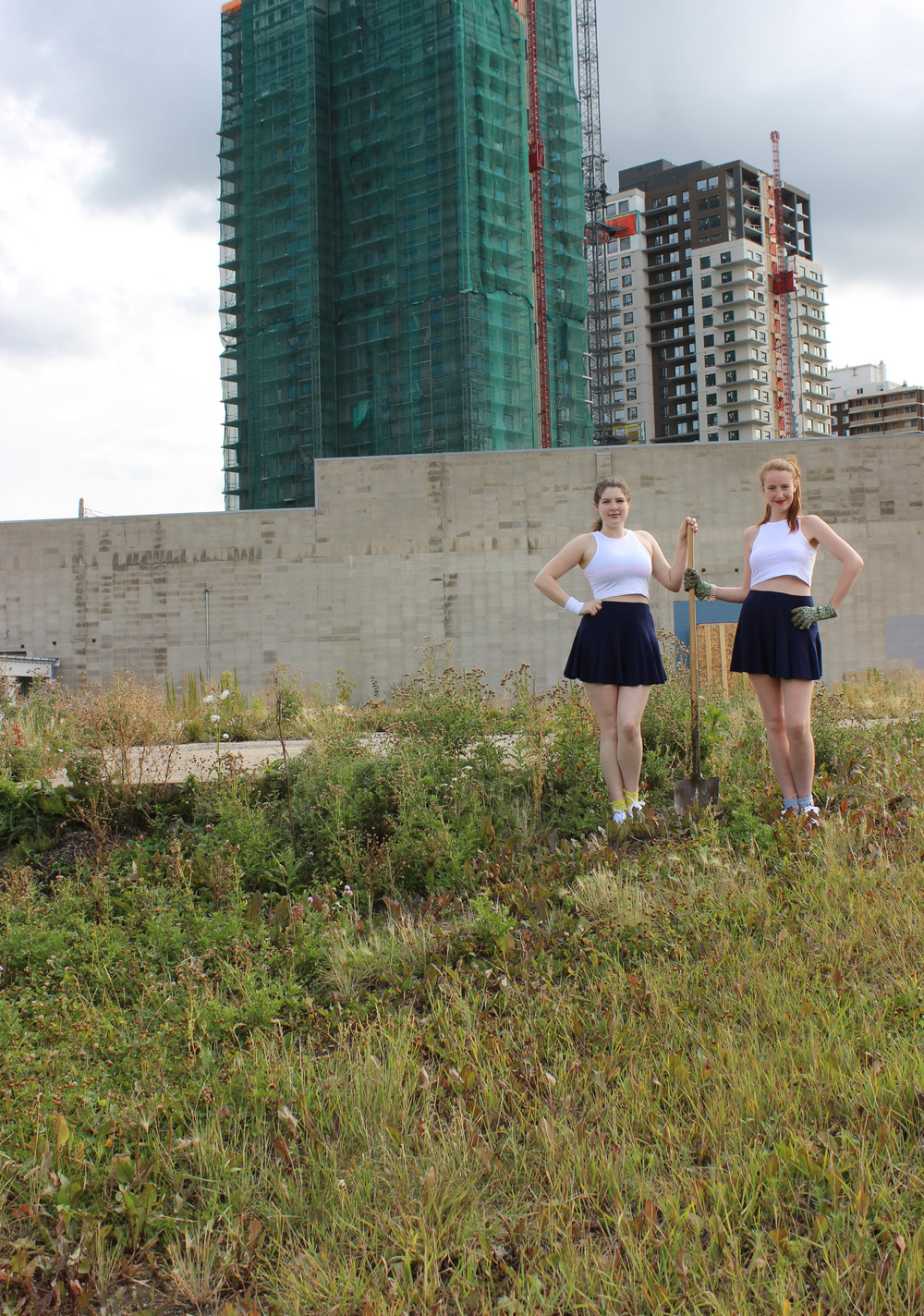 Brookfield Residential, Alyson Davies and Marie Winters, Performance and Digital Documentation, 2015.