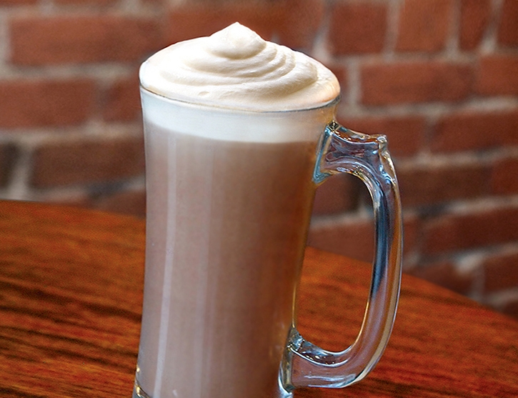 Espresso Mocha with our housemade whipped cream