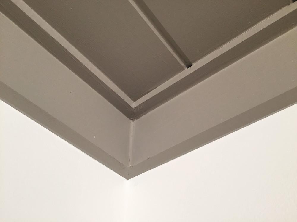 amanda totoro design : installing trim