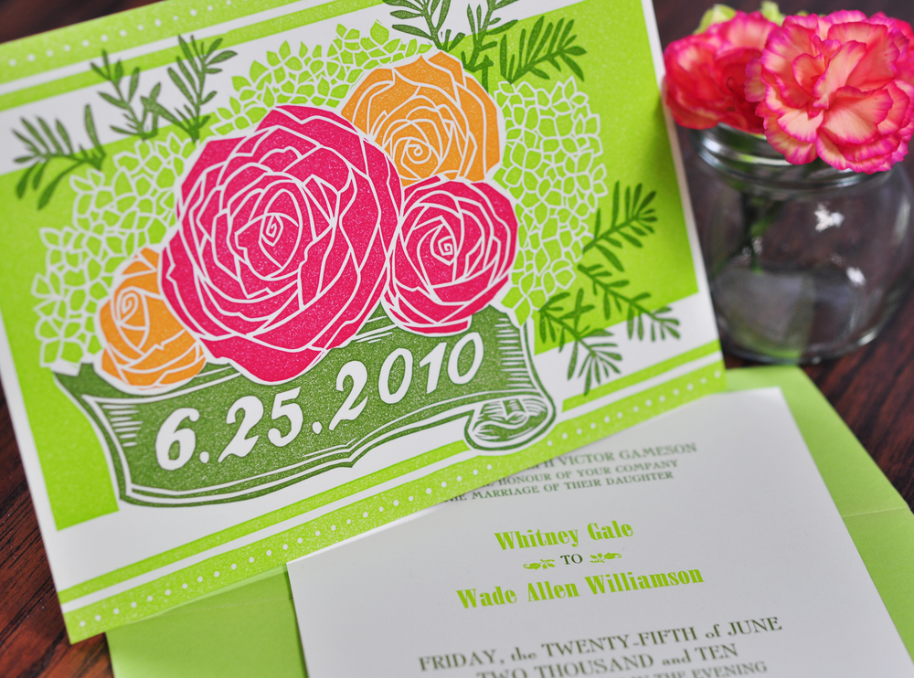 Roses & Banners — Two Tone Press