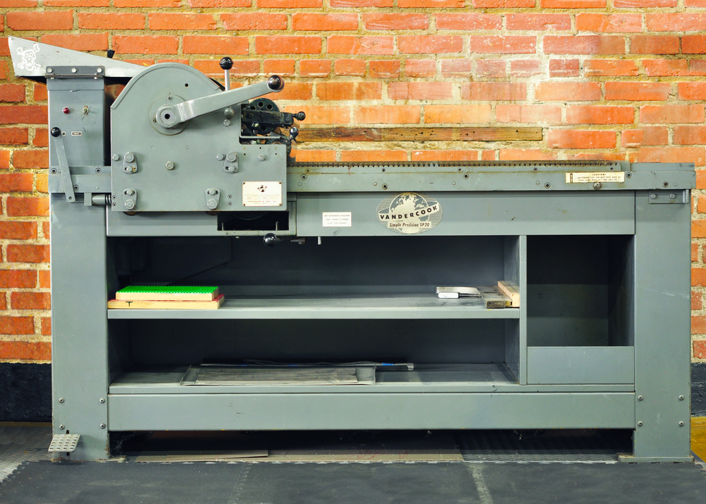 BOSS : VANDERCOOK SP-20