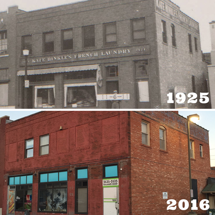 OUR 1925 BUILDING  Click to see how far we've come...