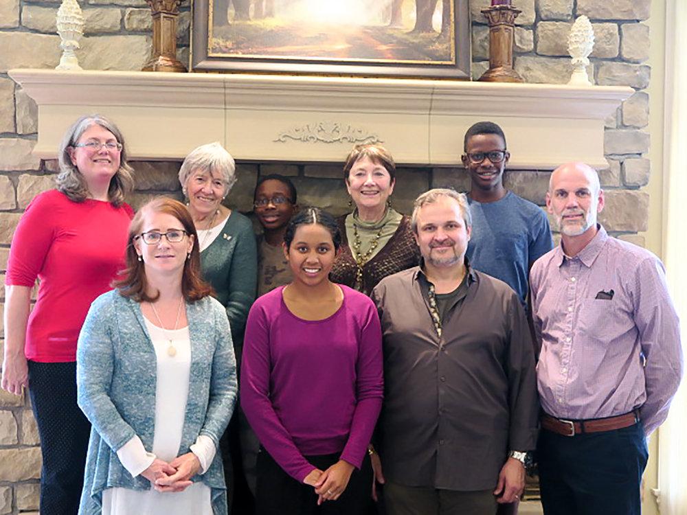 Malawi Team L to R:    Brenda Wagner, Tracee Horvath, Linette Hindley, Elijah Horvath, Elisha Horvath, Beth Allen, Zoltan Horvath, Noah Horvath, James Wagner. (missing: Elliot Wagner)