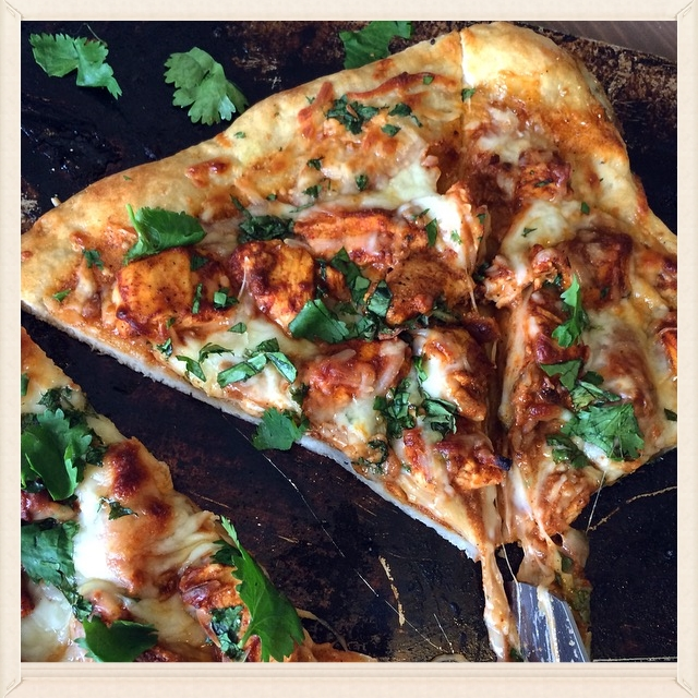 Chicken Tikka Masala Pizza