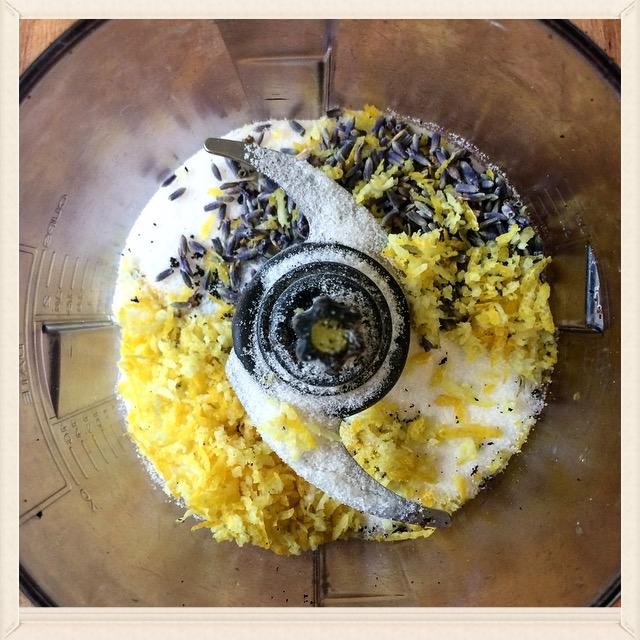 Lemon Lavender & Vanilla Bean Pound Cake