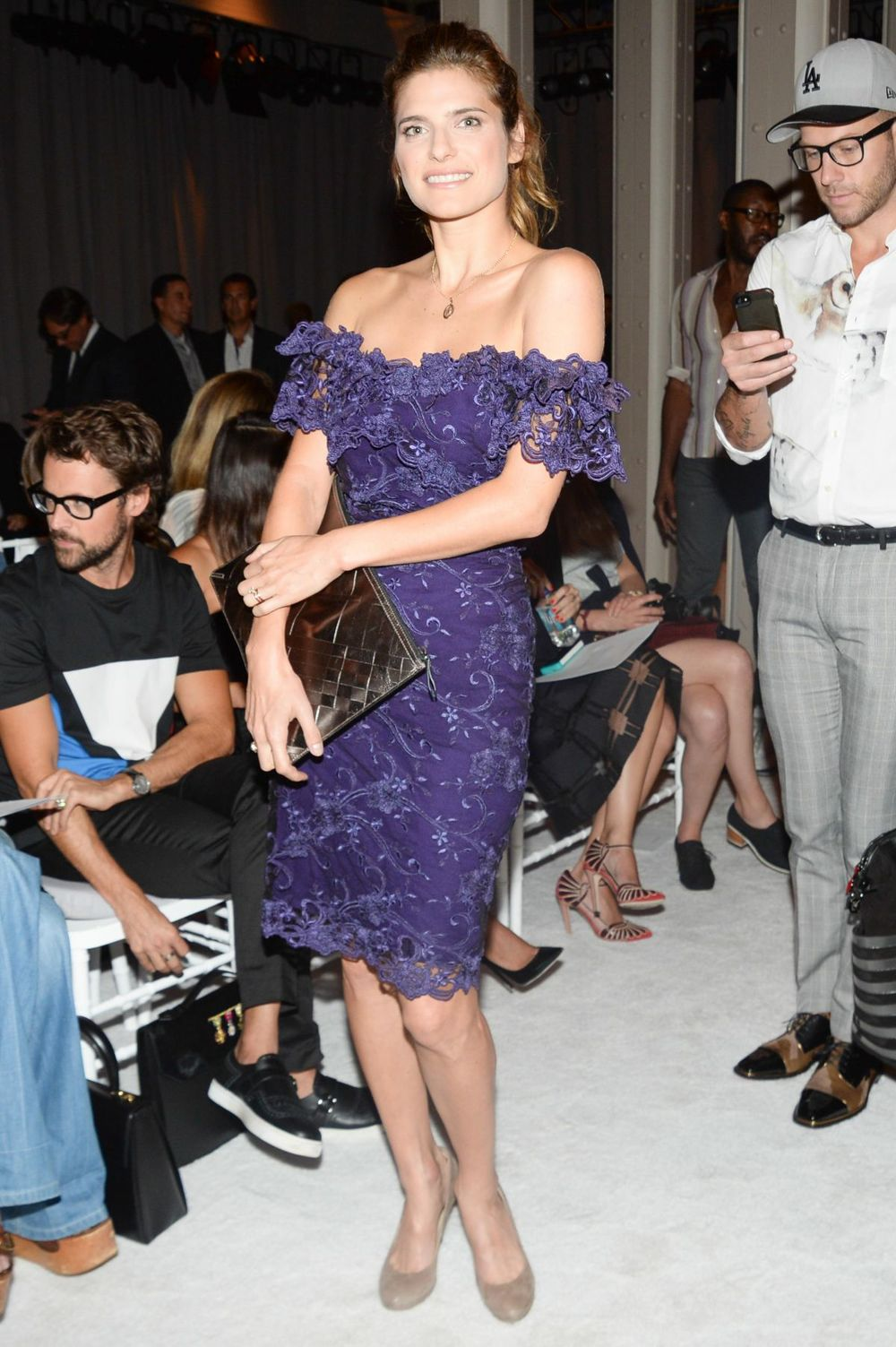 Lake Bell - Marchesa NYFW