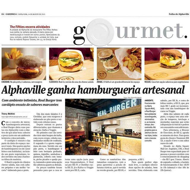 Olha o RB na Folha de Alphaville, em uma reportagem nota 1000 da @thieny... Quem quiser saber um pouco do nosso conceito, dê uma olhada na última edição! 📰👓