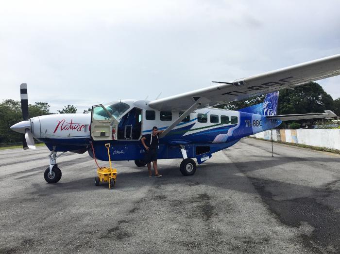 Nature Air prop plane