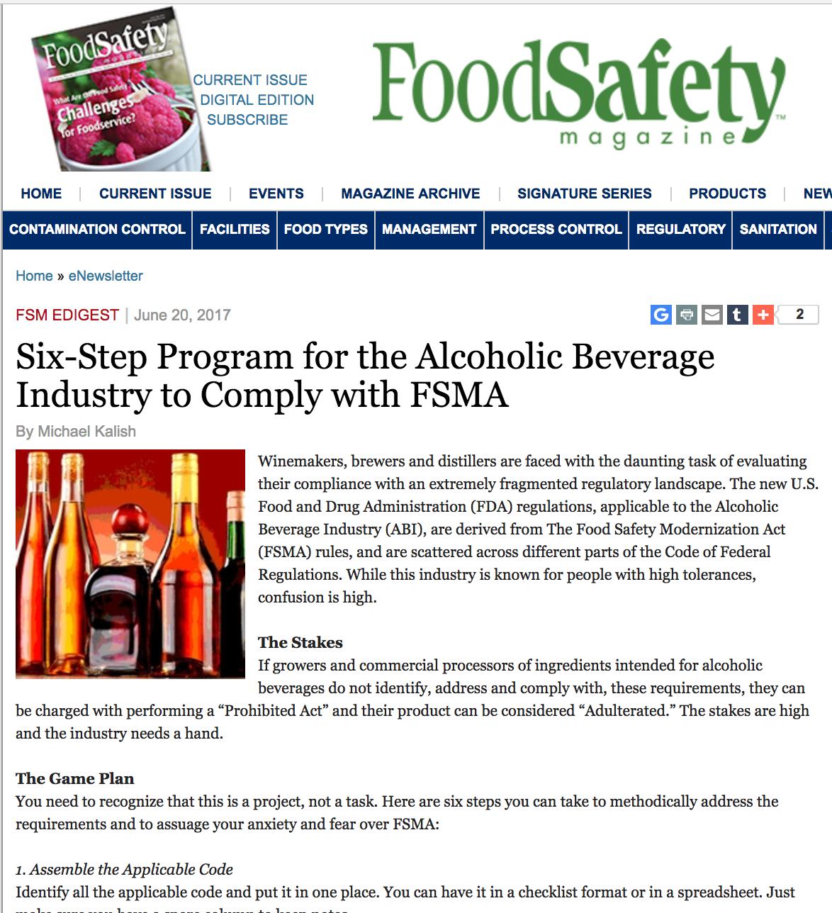 Blog — Food Safety Guides