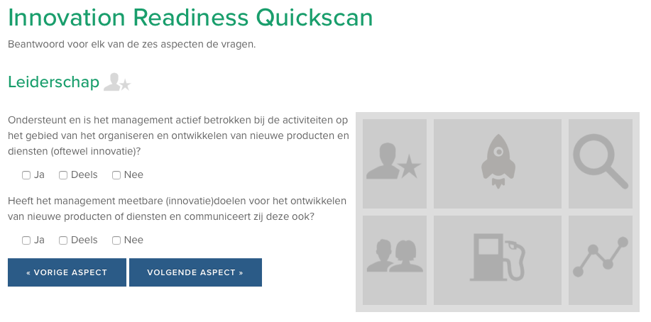 De Innovatie Readiness Quickscan.