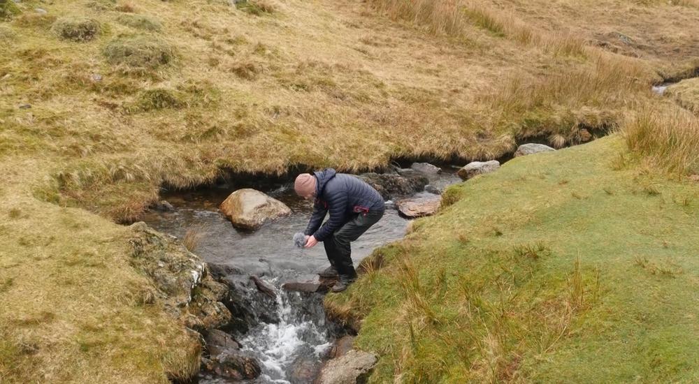 Field recording in Cumbria