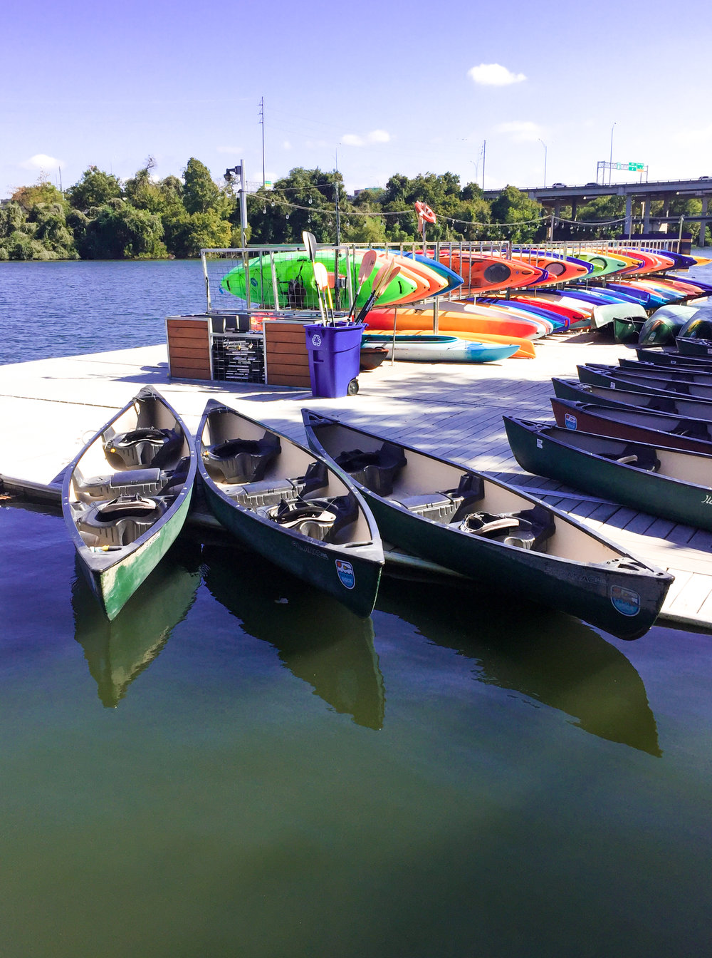 Rowing Dock Rentals Austin TX Wikerts in Wanderlust