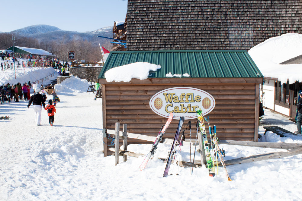 Wikerts in Wanderlust Waffle Cabin Vermont