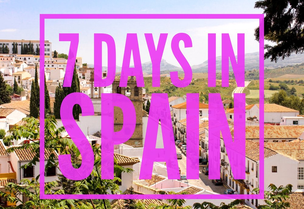 Wikerts in Wanderlust 7 Days in Spain Itinerary