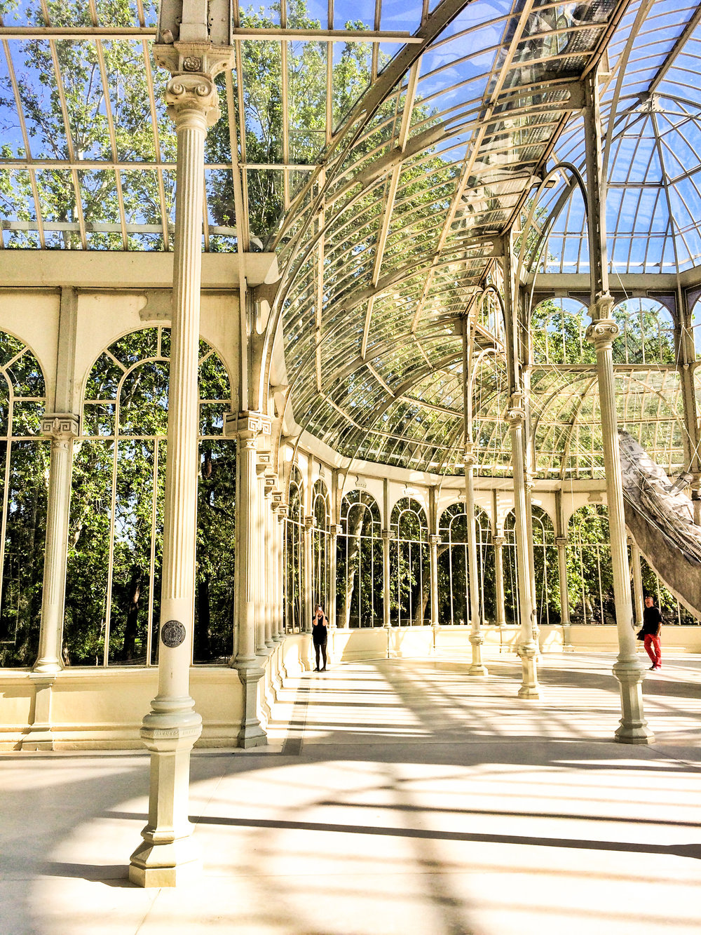 Wikerts in Wanderlust Crystal Palace Madrid