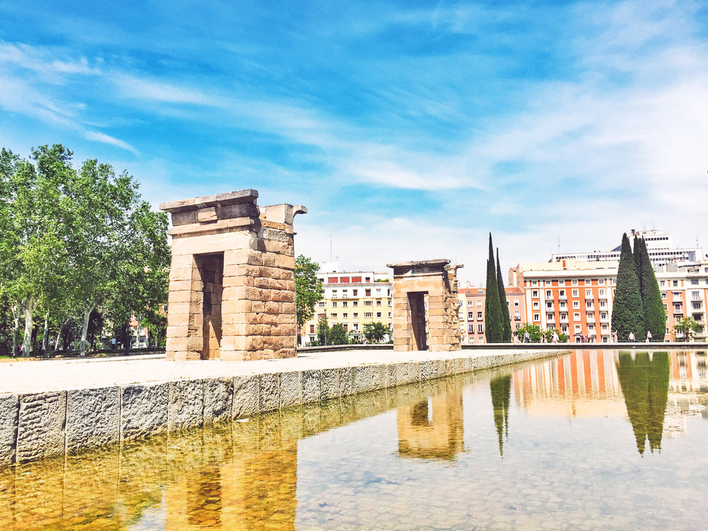 Wikerts in Wanderlust Madrid Spain Temple of Debod