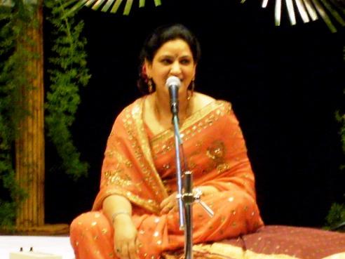 The main artist of the day - Radhika Chopra.JPG