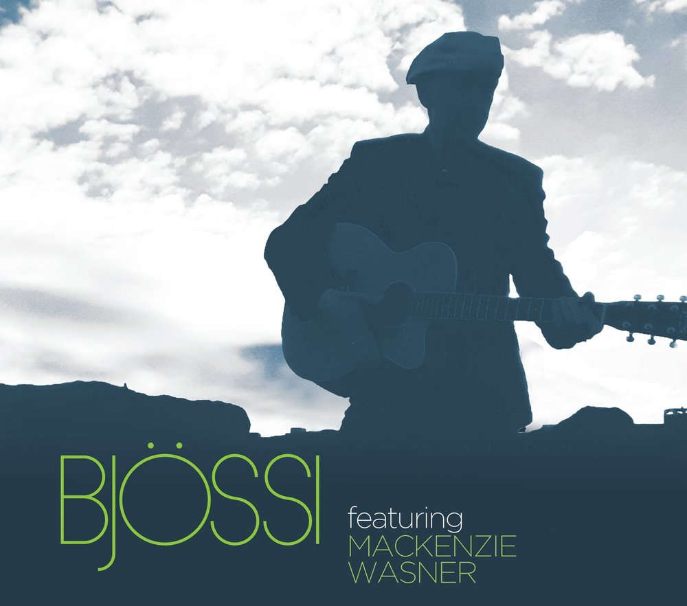 This new album by Björn Thoroddsen,  Bjössi featuring Mackenzie Wasner , is now available worldwide in digital download (MP3 and FLAC format) and on CD via cdbaby.com (Link:  https://store.cdbaby.com/cd/bjossithor )  The album is produced by the legendary guitarist Robben Ford and features the amazing vocals of Nashville-based country singer Mackenzie Wasner. The album has a special appearance by Australian guitar maestro Tommy Emmanuel and some of the finest session players in Nashville play on the record.  The songs are written by Björn Thoroddsen and Robben Ford in addition to two songs from the Bob Dylan archives.  Produced by Robben Ford  The Musicians  Björn Thoroddsen: 6 and 12 String Guitars Mackenzie Wasner: Lead Vocal Robben Ford: Guitars, Piano, Organ Brian Allen: Double Bass Tammy Rogers: Violin Jerry Douglas: Dobro, Lap Steel, Guitar Wes Little: Percussion Laurie Wheeler: Backing Vocal Steinunn Erla Thoroddsen: Backing Vocal Tommy Emmanuel: Special Guest, Acoustic Guitar