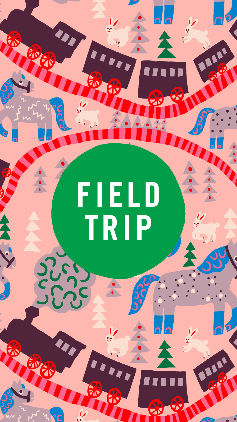 FIELDTRIP 2019 - I will be back in New York together with 11 other artists for the Art & Illustration show that takes place in New York on May 20th. .Companies and art directors > feel free to request your invite through fieldtripshow.com