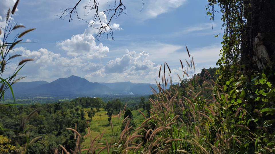 The view across Mae On, Thailand from Crazy Horse.