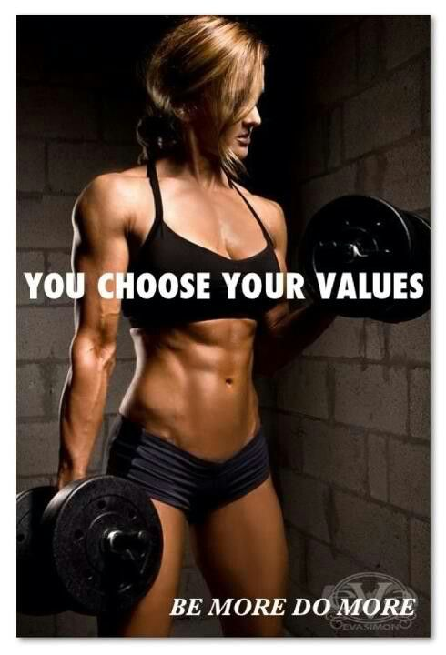 YOU CHOOSE YOUR VALUES