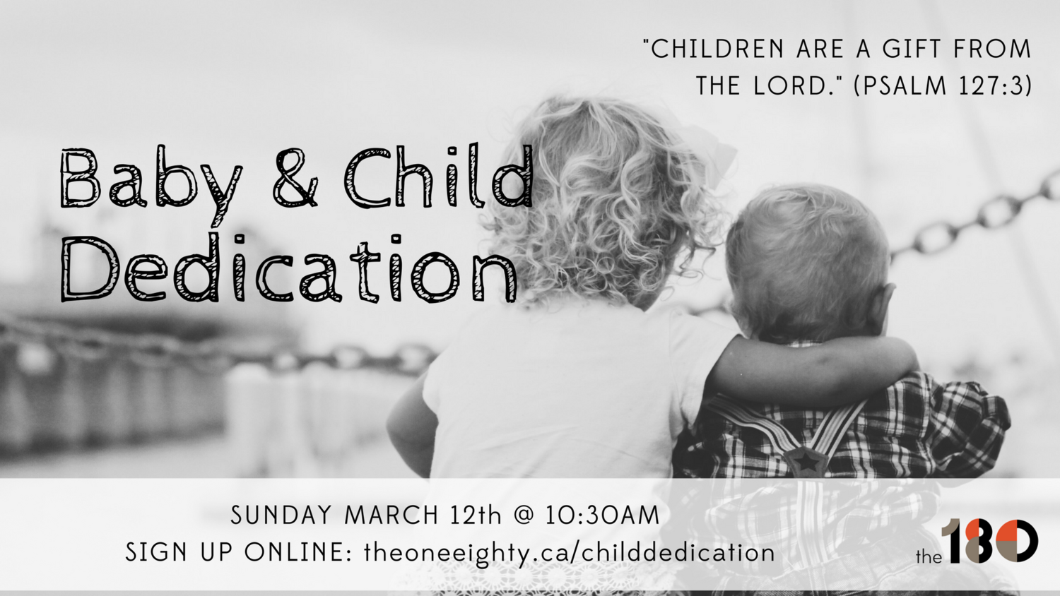 Baby And Child Dedication