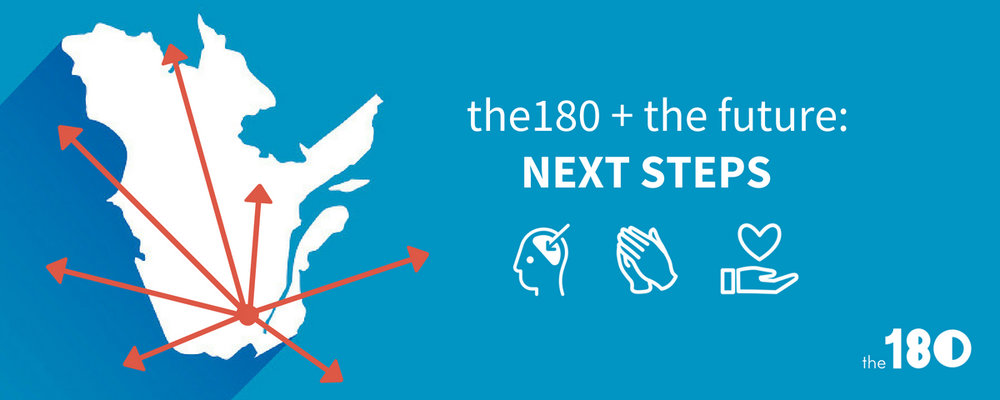 Have you heard about our newest giving project? Learn about how you can invest in the future of the180. -